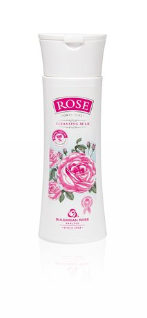 Rose Cleansing Milk Make-up Remover with Bulgarian Rose Oil 150 ml