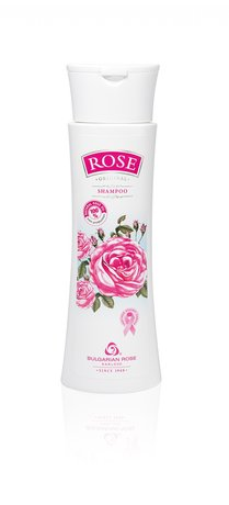 Rose Shampoo with Bulgarian Rose Oil for All Hair Types 200 ml