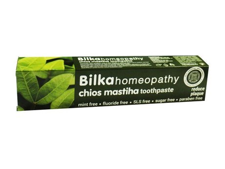 Bilka Homeopathy Toothpaste with Chois Mastiha, Fluoride and Mint Free 75ml