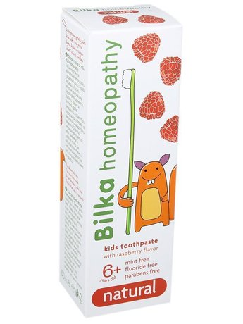 Bilka Homeopathy Toothpaste for Kids Natural 6+ 50ml