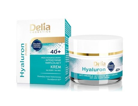 Delia Care Hyaluron Fusion Anti-wrinkle Intensive Moisturising Day and Night Cream 40+