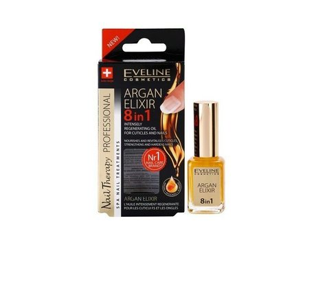 Argan Elixir 8 In 1 Intensely Regenerating Oil for Cuticles and Nails
