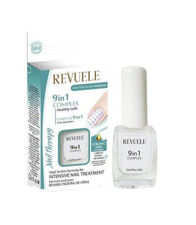 Nail Therapy Complex Treatment 9in1 Concentrated Nourishing Nails Care Argan Oil, Vitamins