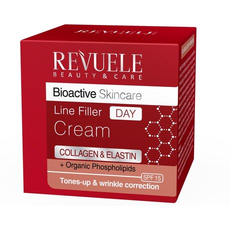 Bioactive Skincare Line Filler Day Cream-fluid with Collagen and Elasin 50ml