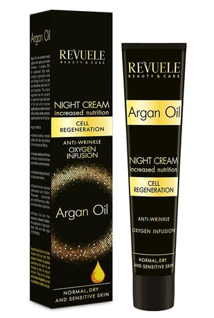 Revuele Anti Wrinkle Moisturising Night Cream with Argan Oil 50ml