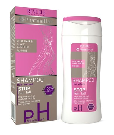 Pharma Hair Stop Hair Fall, Volume Shampoo with Quinine 200ml