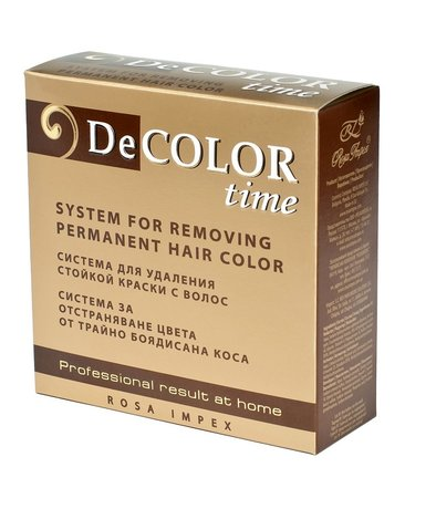 DeColor Time Hair Colour Remover - Removes Colour Build-up without Damaging Hair
