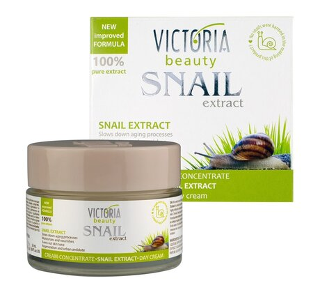 100% Pure Snail Extract Anti-Aging Day Cream-Concentrate for Deep Nourishment 50ml