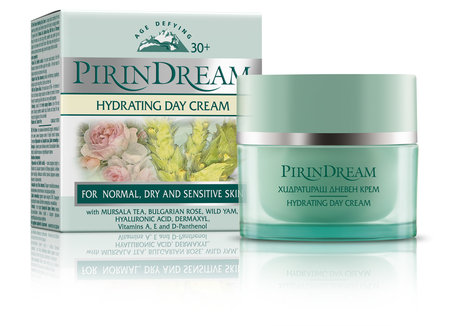 Anti Ageing Hydrating Day Face Cream with Dermaxyl, Rosa Damascena, Wild Yam 30+