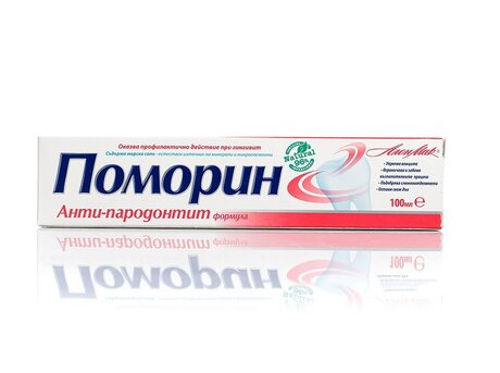 Pomorin Anti Periodontitis and Gingivitis Toothpaste with Sea Salt - 100ml