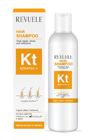 Keratin Total Repair Hair Shampoo with Arginine 200ml