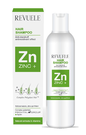 Zinc + Hair Shampoo against all types of dandruff 200ml