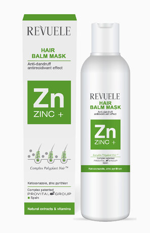 Zinc + Hair Balm Mask Anti Dandruff with Zinc Pyrithione 200ml