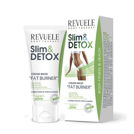 Slim & Detox Fat Burner Cream Mask 200ml