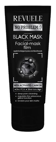 No Problem Activated Carbon Charcoal Mask 80ml