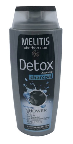 Purifying Detox Shower Gel with Activated Charcoal 250ml
