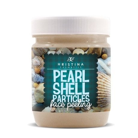 Natural Face Scrub with Kaolin and Pearl Shell Micro Particles 200ml