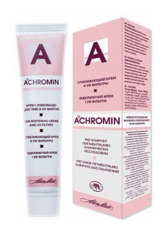 Achromin Whitening Cream For Dark Spots, Age Spots 45ml