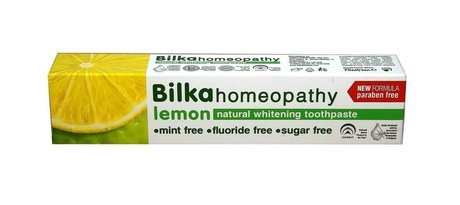 Homeopathic Natural Whitening Toothpaste with Xylitol, Fluoride Free 75ml