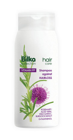 Bilka Hair Care Shampoo Against Hair Loss, Promotes Re-Growth and Strength 200ml
