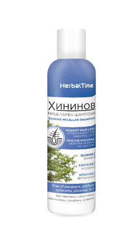 Herbal Time Strenghtening Micellar Quinine Shampoo  200ml