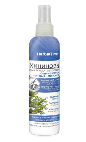 Herbal Time Quinine Water Strengthening Hair Tonic 200ml