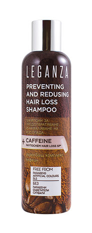 Leganza Anti Hair Loss Shampoo with Caffeine 200ml